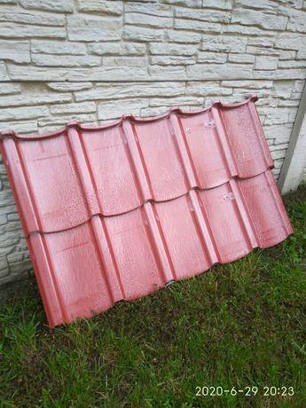 blacha dachówkowa czerwony mat Talia z Blachotrapezu