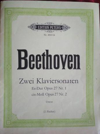 Ноты Бетховен Сонаты