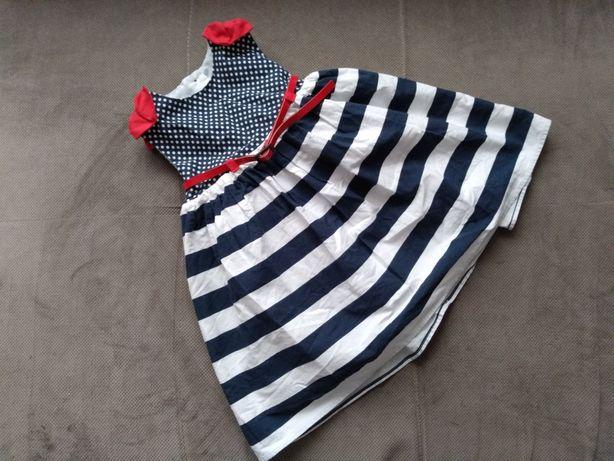 Sukienka dla dziewczynki w rozmiarze 80-86