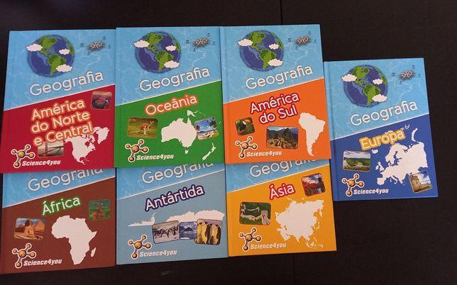 Coleção de livros geografia Science4you