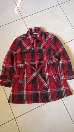 płaszcz jesienny elegancki, dziewczynka 152
