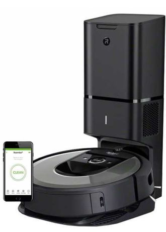 Пылесос iRobot Roomba i7 + (7550)