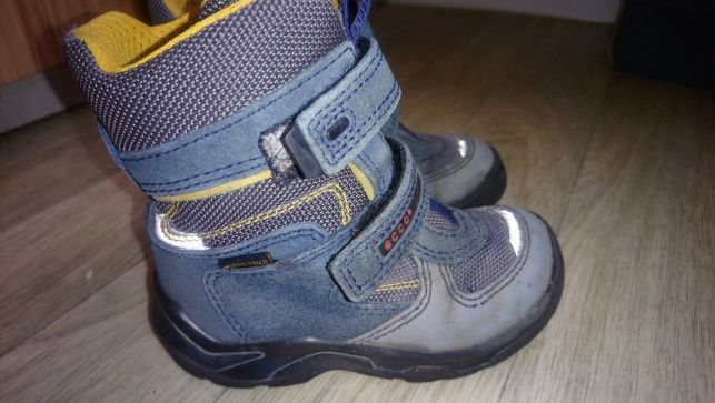 Сапоги ботинки ecco 26