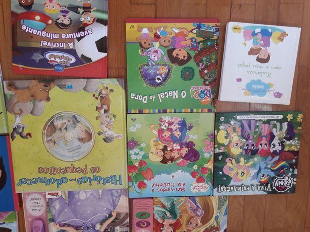 Livros infantis varios