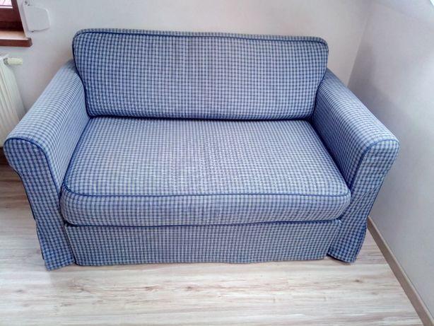 Dwuosobowa sofa ikea z funkcją spania