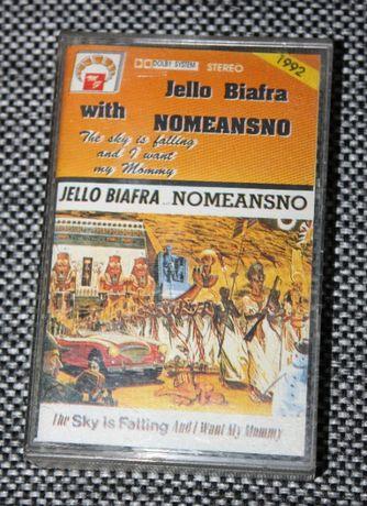 Kaseta magnetofonowa Jello Biafra with Nomeansno