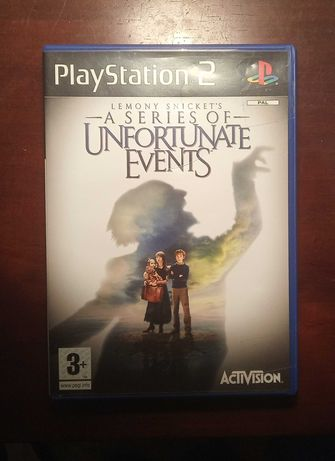 PS2-Lemony Snickets A series of unfortunate events
