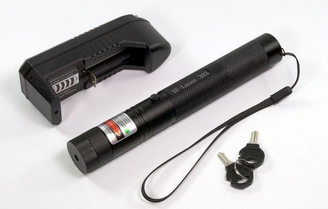Nowy LASER ZIELONY - Wskażnik Laserowy 10000 AKU 18650