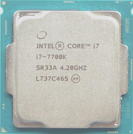 Процессор i7 7700K 4.2GHz 8Mb Intel Core 1151 SR33A | Гарантия 1 Год
