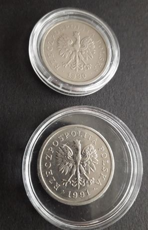 Kolekcja monet przed denominacją.