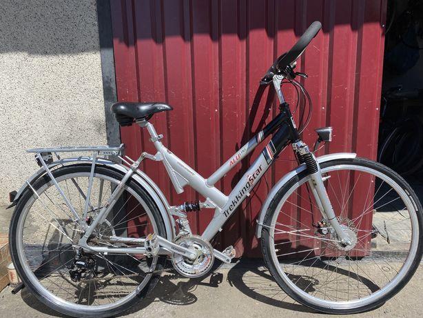 Велосипед TrekkingStar з Німеччини , алюминий , 28 колеса , двухподвес
