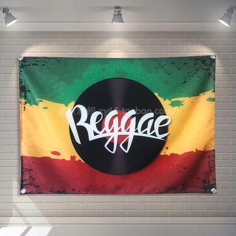 Nowa flaga Reggae muzyka loft ozdoba prezent