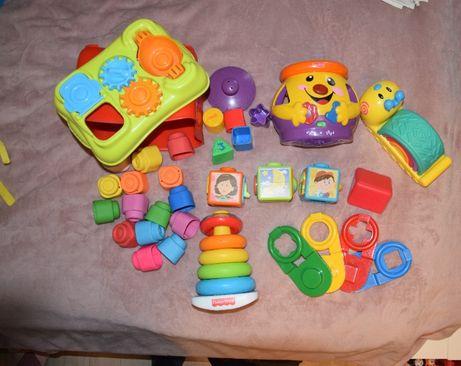 Zabawki dla niemowlaka, sortery - zestaw