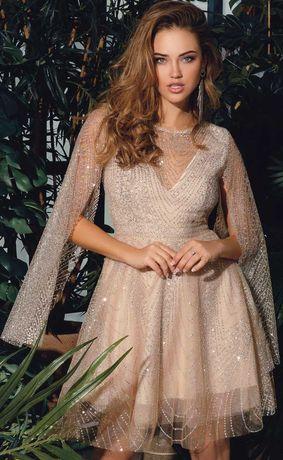 Вечернее коктельное выпускное платье