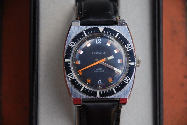 Unikatowy zegarek mechaniczny Caravelle