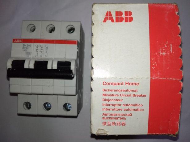 Продам автоматический выключатель ABB SH 203-B10 10A