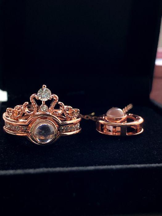 Двухслойное кольцо Я тебя люблю на 100 языках мира Киев - изображение 1