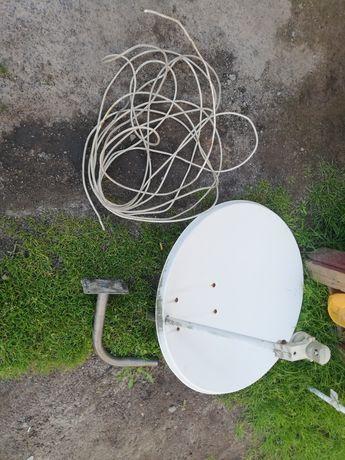 Antena Satelitarna z konwerterem + 10m kabla