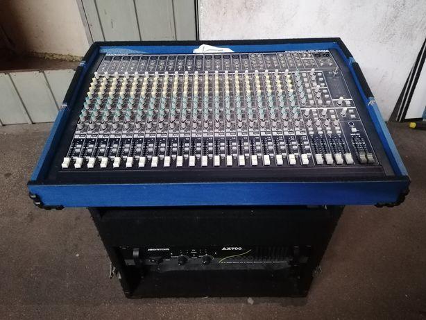 Mesa Behringer de 24 vias + Amplificador + Móvel