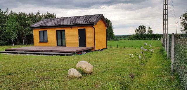 Całoroczny dom na działce rolno-budowlanej