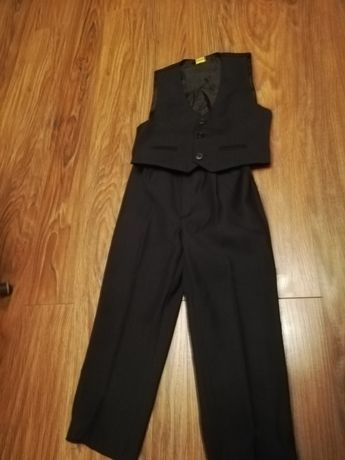 Garnitur 104 spodnie+kamizelka
