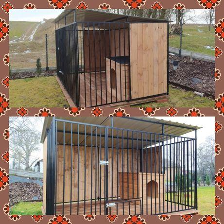 Kojce dla psów psa 3X2 Klatka Boks buda wiata śmietnik składzik