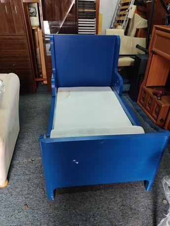 Ikea Busunge łóżko o regulowanej długości dno- rośnie z dzieckiem
