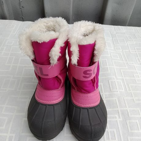 Sorel детские ботиночки девочка