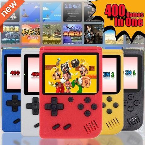 Consola Retro com 400 jogos incorporados | Tipo Game Boy | Portátil