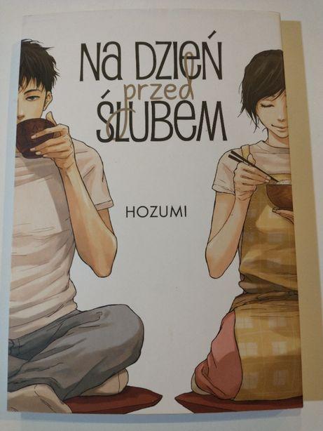 """Manga """"Na dzień przed ślubem"""" Hozumi w bardzo dobrym stanie"""