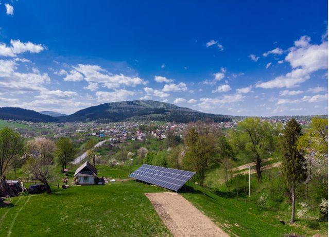 Сонячна електростанція, СЕС, сонячні панелі, зелений тариф