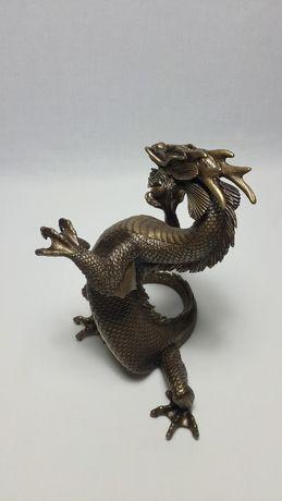 Подарок мужчине коллекционный Скульптура Дракон.