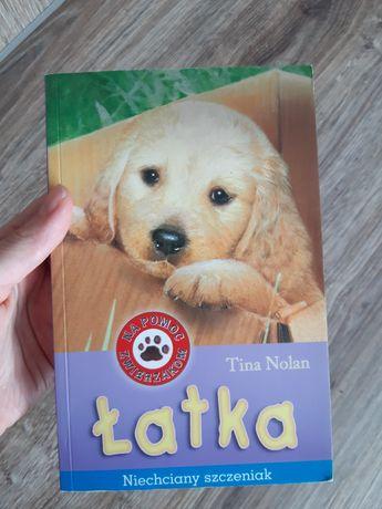 """Tina Nolan """"Łatka. Niechciany szczeniak"""""""