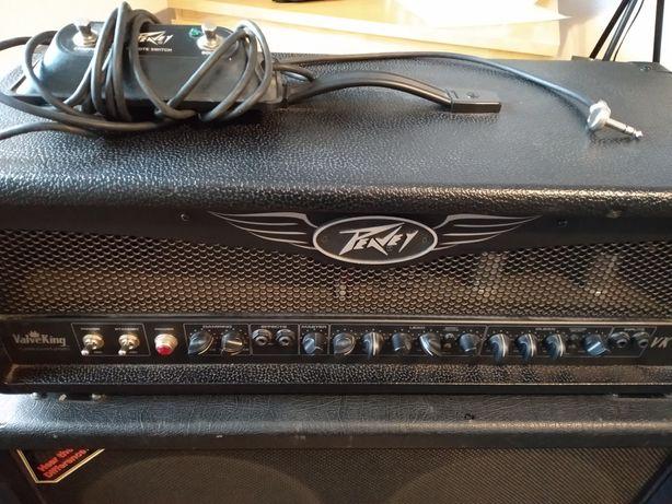 Wzmacniacz gitarowy lampa  Peavey ValveKing 100W plus case.