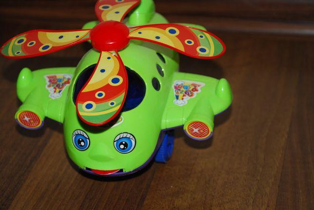 helikopter, samolot dla malucha
