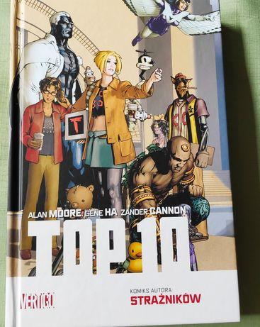 Komiks Top 10. Wydanie zbiorcze nagradzanej  na świecie serii.