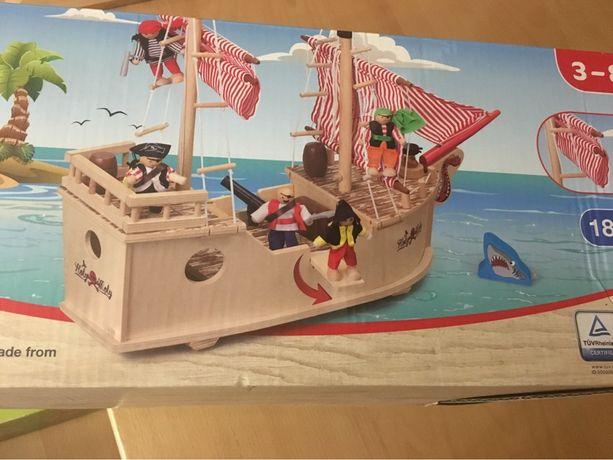 Дерев'яні дитячі іграшки корабель пірати Play tive Junior 3-8 років