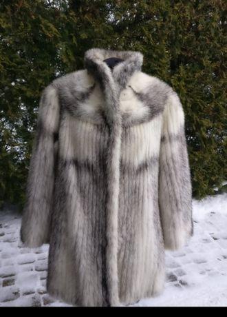 kurtka z norek SAGA MINK ( naturalny kolor)