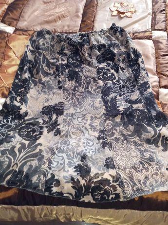 Spódnica damska,cienki,zwiewny materiał (żorżeta)