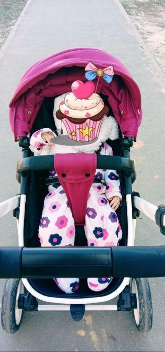 Демисизонный комбинезон весна- осень на девочку 80размер. Харьков - изображение 1