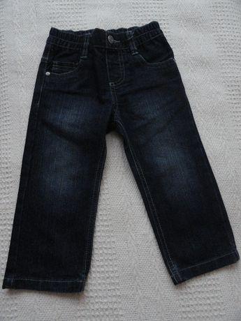 Spodnie dżinsowe chłopięce 86