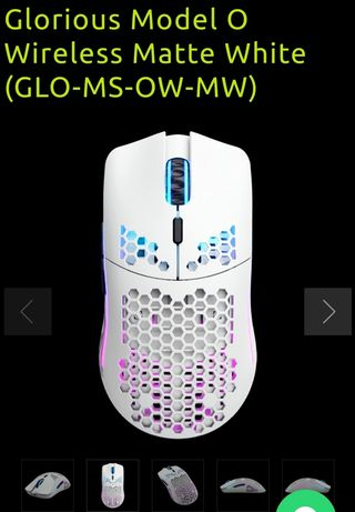 НОВА!!! Glorious Model O Wireless Matte White (GLO-MS-OW-MW)   НОВА!!!