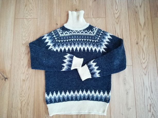 wełniany sweter męski
