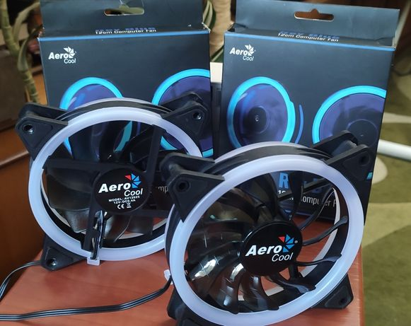 Кулер Aerocool Rev Blue 120мм