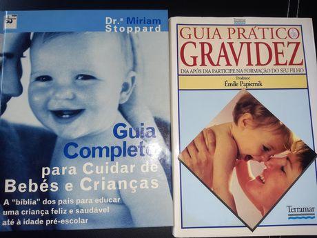 Guias práticos da Gravidez e para cuidar de bebes e crianças