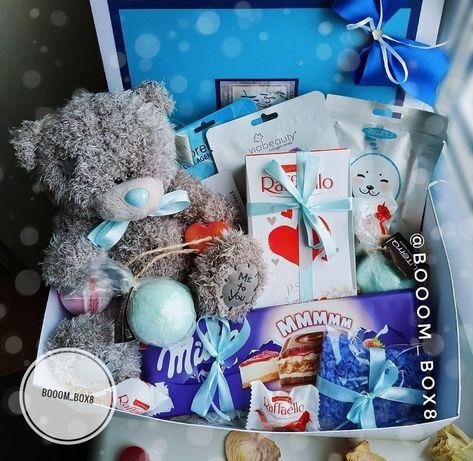 Подарочный бокс, подарок, коробка, рождество