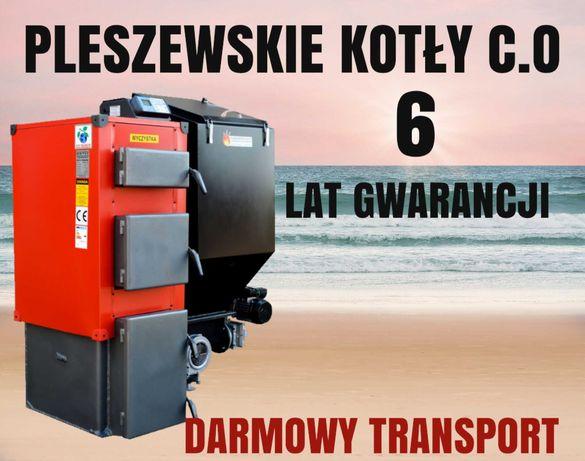 KOTŁY 7 kW do 45m2 Kocioł z PODAJNIKIEM Piec na EKOGROSZEK 4 5 6
