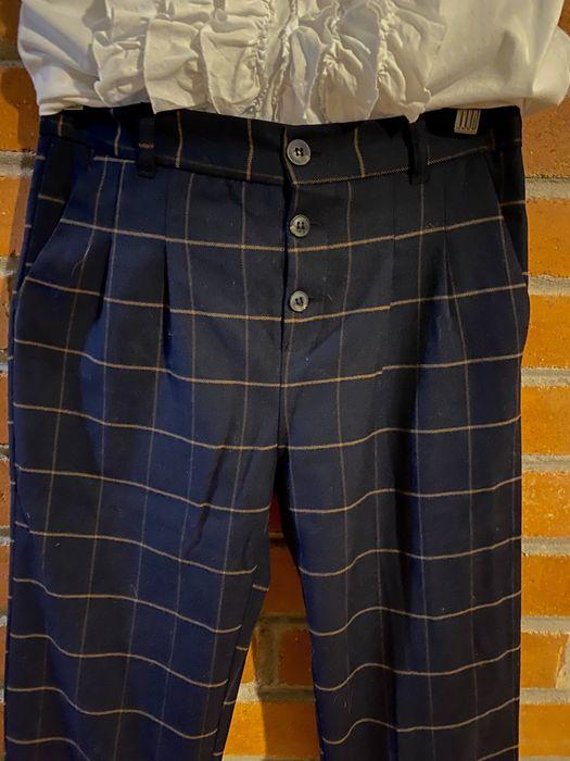 Zara sliczne welniane spodnie r.164 Magdalenka - image 1