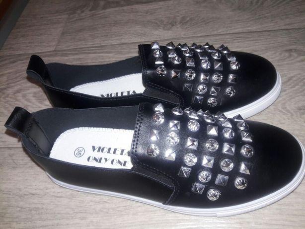 Мокасины туфли кроссовки женские подрастковые36 р.-23 смг