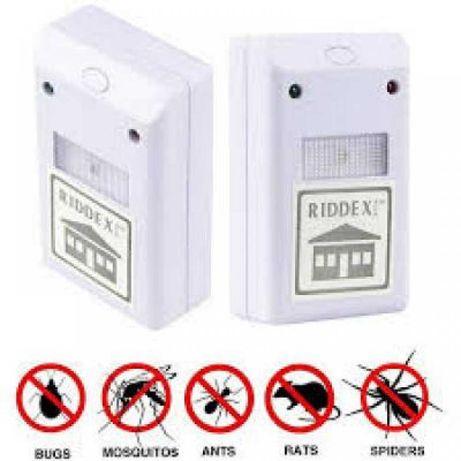 RIDDEX Max pro електромагнітний відлякувач комах і гризунів мишей